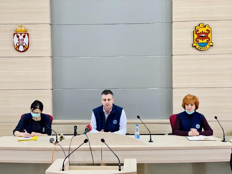 U Pirotskom okrugu  113 pozitivnih slučajeva na Covid 19