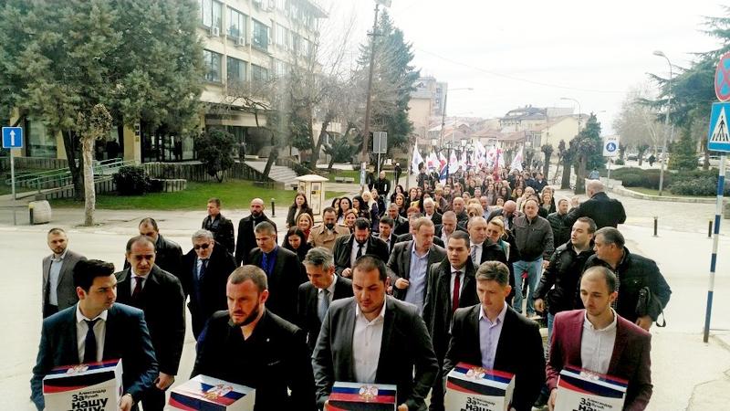 Naprednjaci u Vranju prvi predali odborničku listu