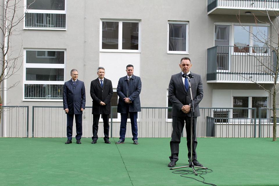 Uručeni prvi ključevi pripadnicima snaga bezbednosti u Vranju