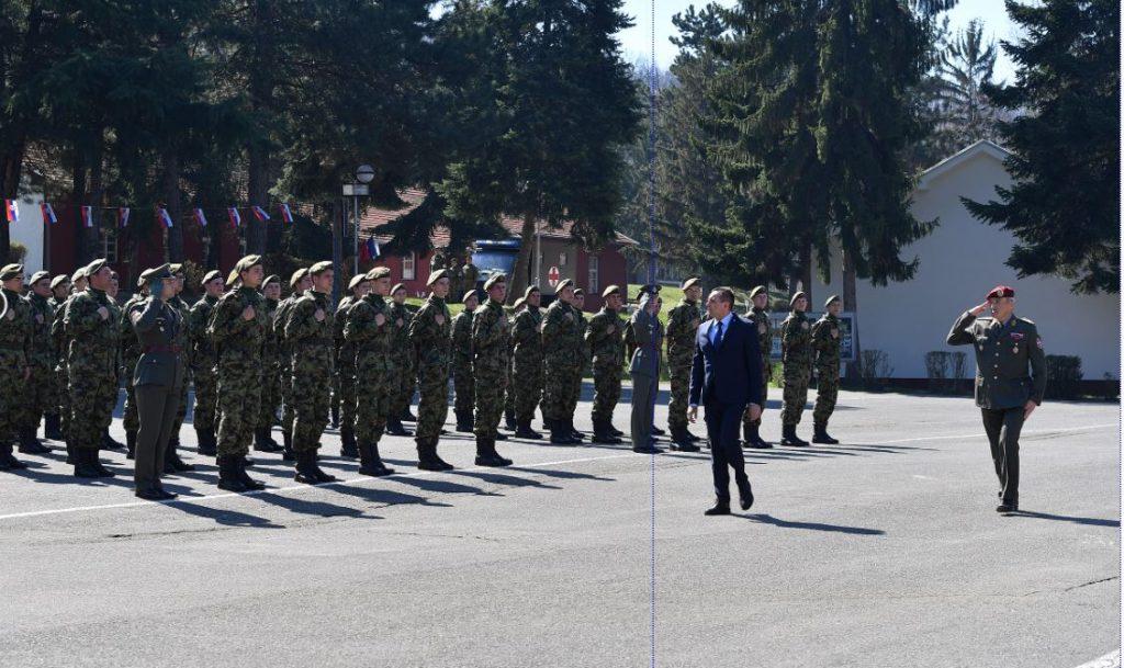 Vulin na polaganju zakletve u Leskovcu: Vojska se ne da pokolebati, bez obzira odakle opasnost preti
