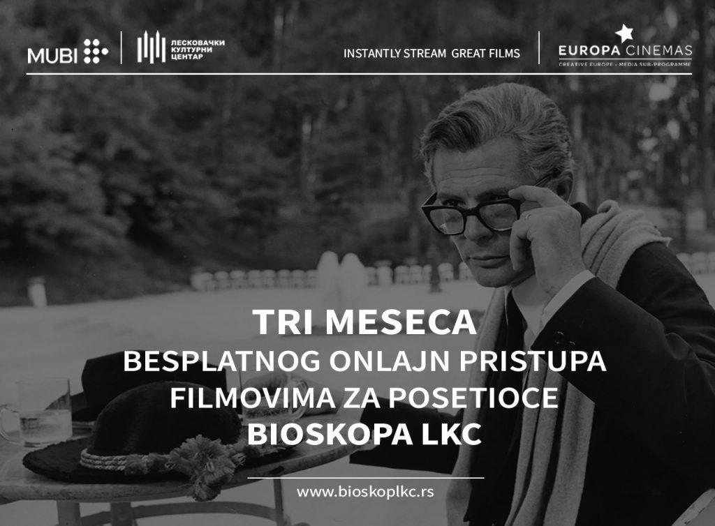 Tri meseca besplatnog onlajn pristupa filmovima