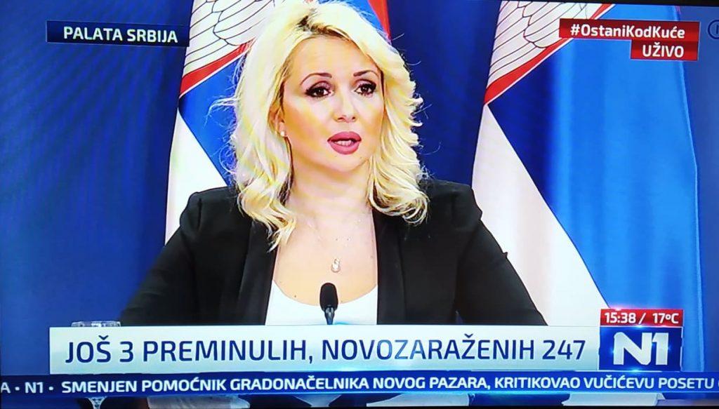 KORONA U Srbiji zaraženo 2447 od 9626 testiranih, umrla 61 osoba