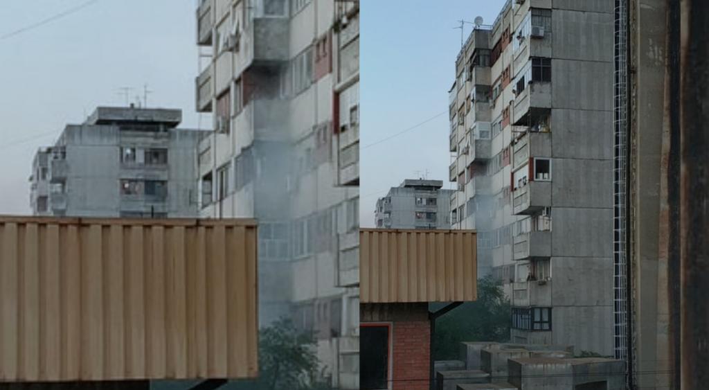 Zapalili se dušeci, požar zahvatio zgradu u Dubočici