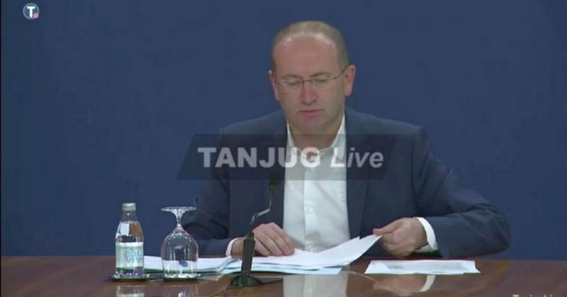 Gojković: Prelazimo u fazu lične odgovornosti, distanciranje neophodno