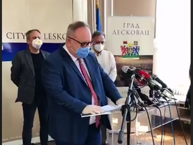 U Jablaničkom okrugu još 20 pozitivnih na koronu, ukupno 219 od kojih 72 zdravstvena radnika