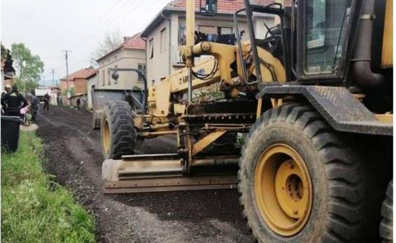 Nastavlja se sa ugradnjom grebanog asfalta na teritoriji grada Leskovca