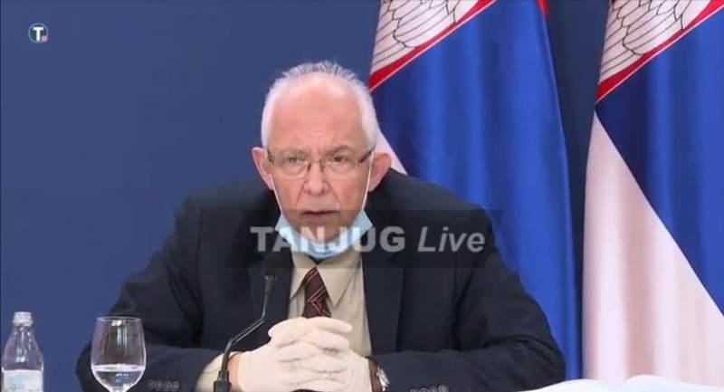 Kon: Novi udar korone u Srbiji očekuje se u novembru