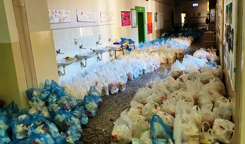 Počela podela paketa pomoći najugroženijim građanima u Pirotu