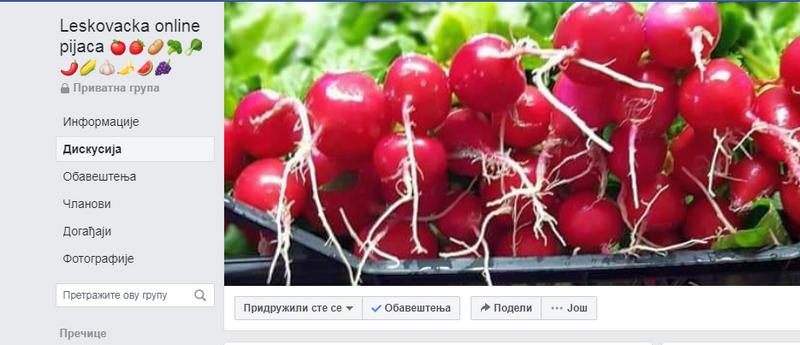 Leskovačka pijaca promenila adresu, sveže voće i povrće može stići do svakog od nas