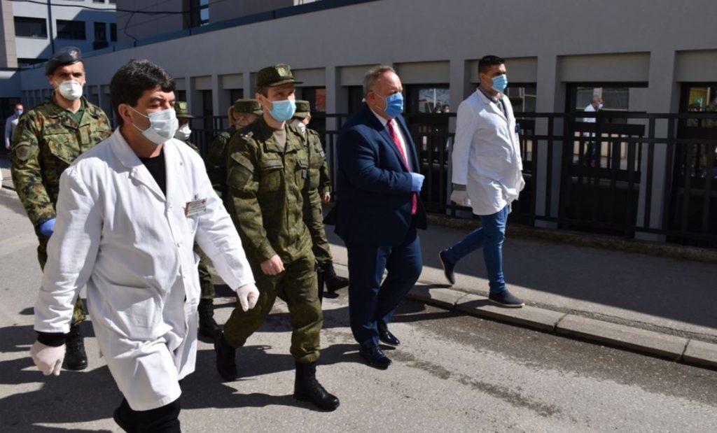 Posle Niša ruski vojni lekari posetili Opštu bolnicu i Dom zdravlja u Leskovcu
