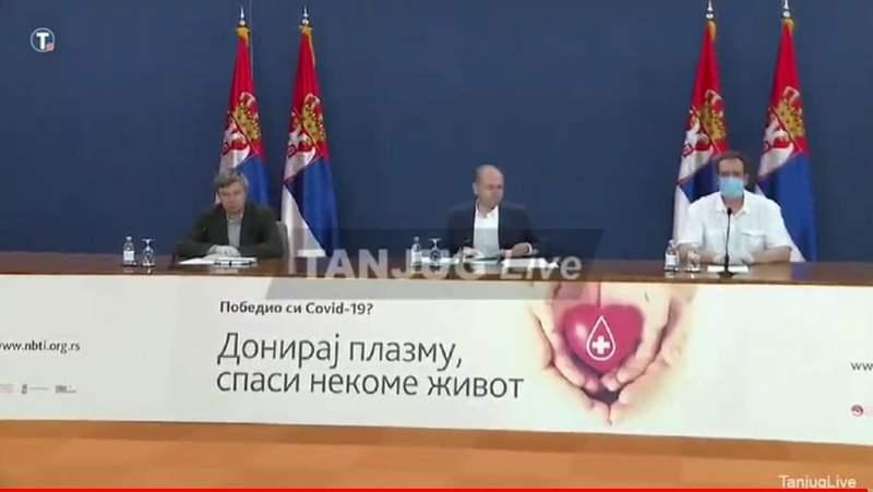 Još šest osoba preminulo u Srbiji od virusa korona, izlečeno 1.343