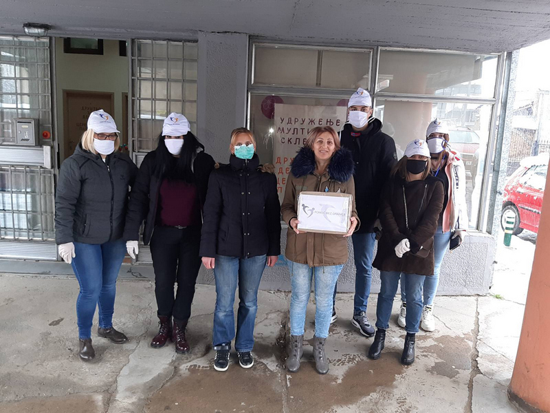 Maske ratnim veteranima i obolelima od multiple skleroze