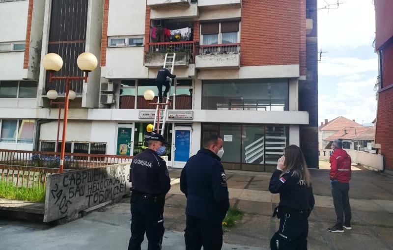 Komunalni policajci spasli čoveku život