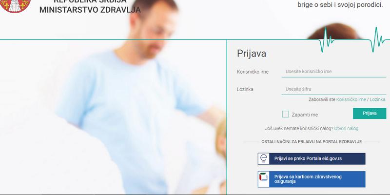 Od danas možete da uradite test samoprocene na Covid19 preko sajta Ministarstva zdravlja
