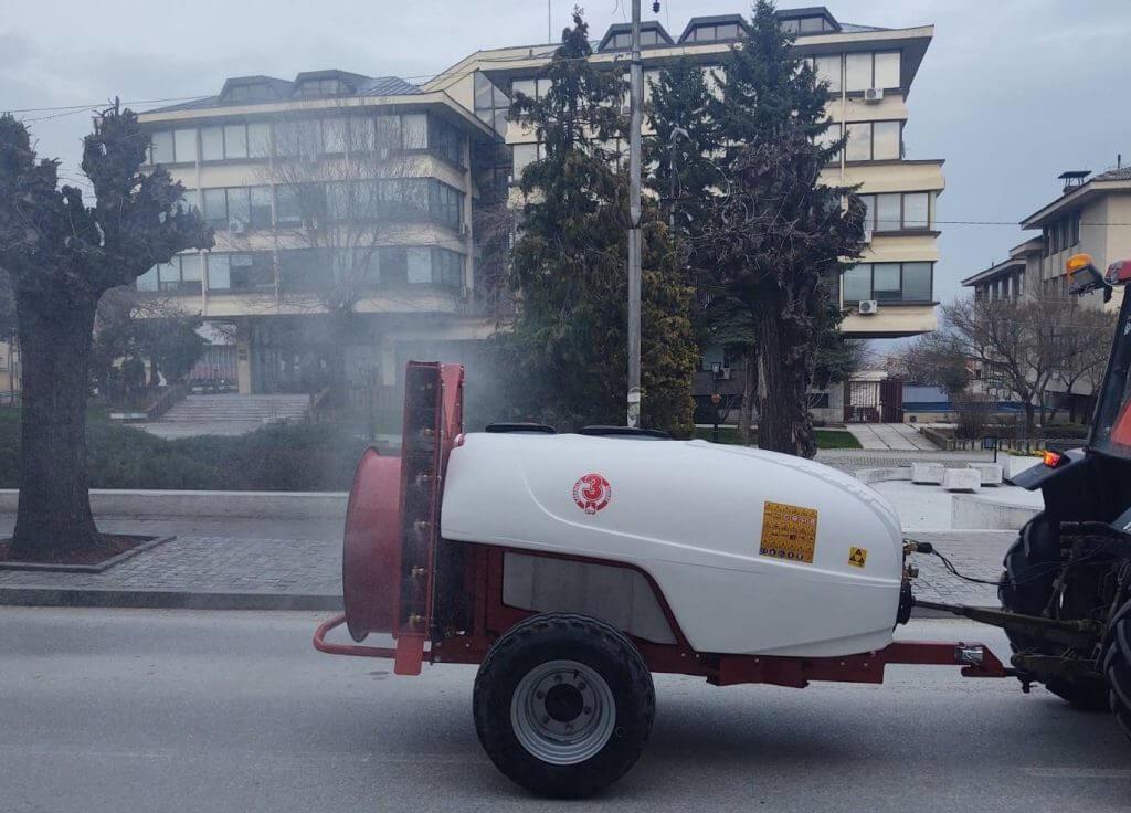 U Vranju danas ponovo dezinfekcija ulica i javnih površina