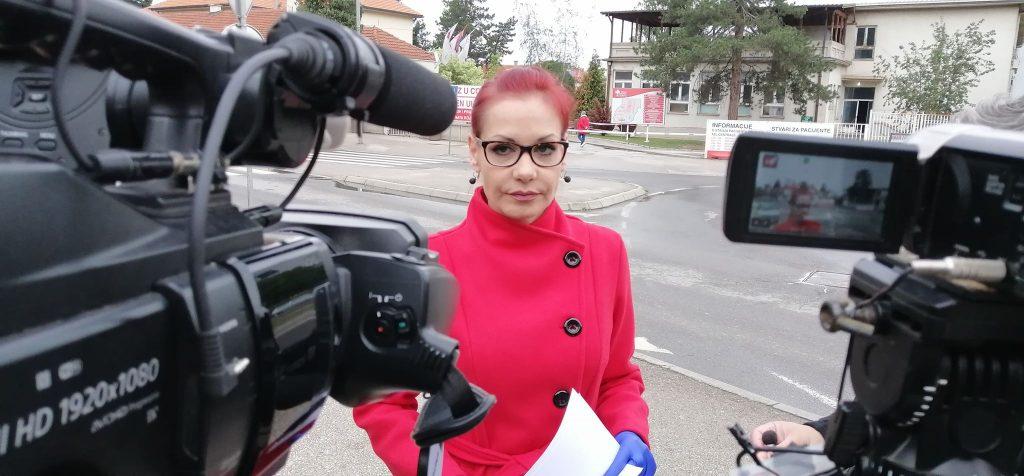 Spirićeva: Zdravstveni radnici u Leskovcu nose lažnu zaštitnu opremu