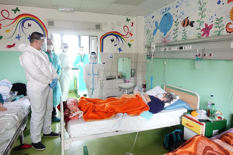 Povećava se boj pacijenta u leskovačkoj covid bolnici