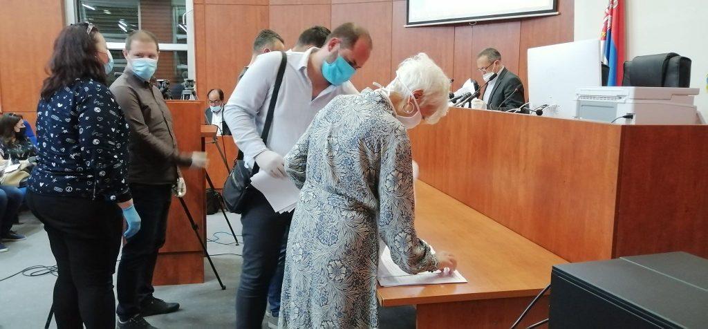 Nepotpune četiri predate izborne liste za lokalne izbore u Leskovcu