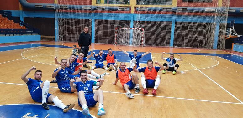 KMF Leskovac se plasirao u drugu futsal ligu Srbije