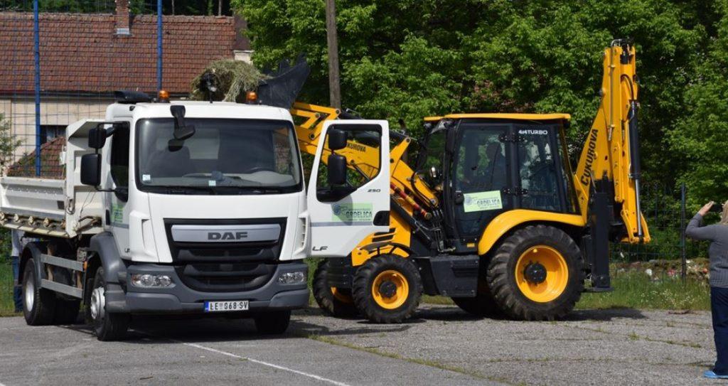 Grad Leskovac nabavlja nova vozila i mašine za javna i komunalna preduzeća