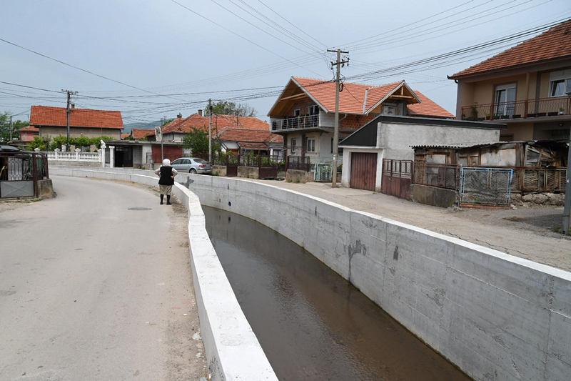 Meštani naselja Rogoz više neće strepeti od izlivanja kanala i poplava