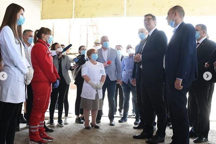 Vučić u Prokuplju: Ponosan sam na ulaganja u zdravstvene centre
