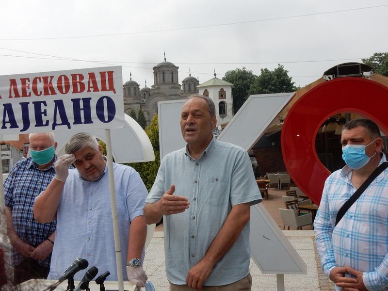 """Peh: Čelnike GG """"Za Leskovac zajedno"""" zatvorila korona nedelju dana pre izbora, sada se dobro osećaju"""