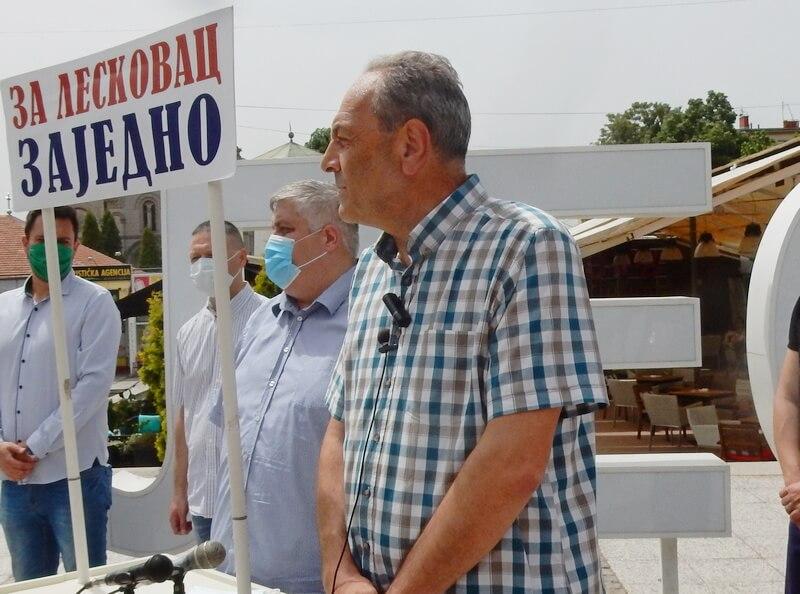"GG ""Za Leskovac – zajedno"" dobila bivše prostorije DSS, ali sa zadrškom"