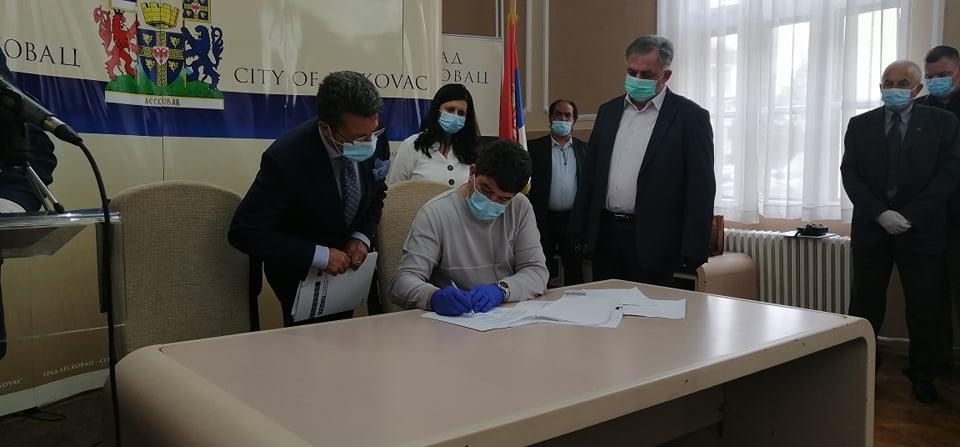 OEBS donirao zaštitnu opremu zdravstvenim institucijama u Leskovcu