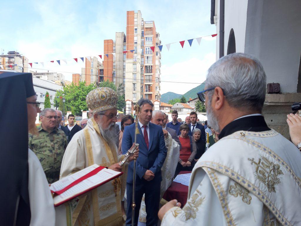 Svečanom liturgijom proslavljena gradska slava u Vranju