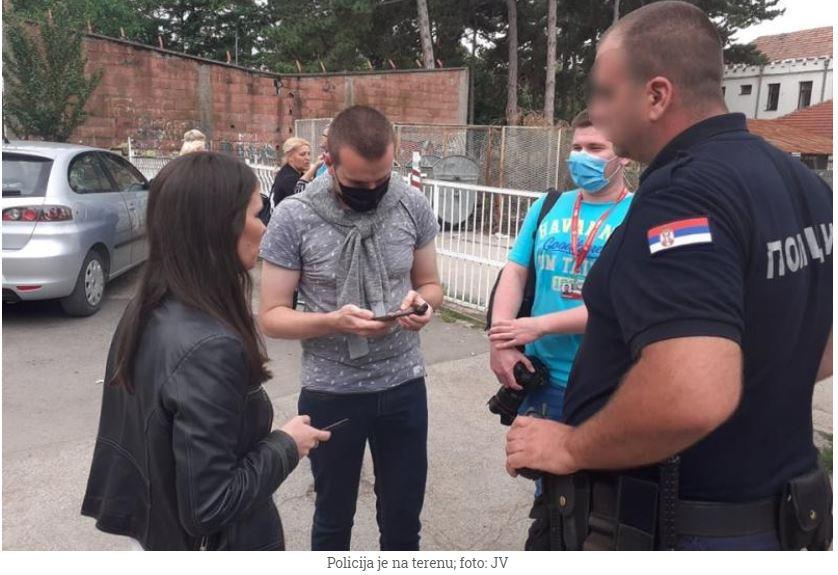 U Nišu na izbornom mestu napadnuti novinari Južnih vesti