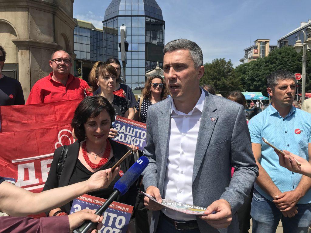 Boško Obradović: Opozicionari koji izlaze na izbore direktno krše Ustav, kao i sam Vučić