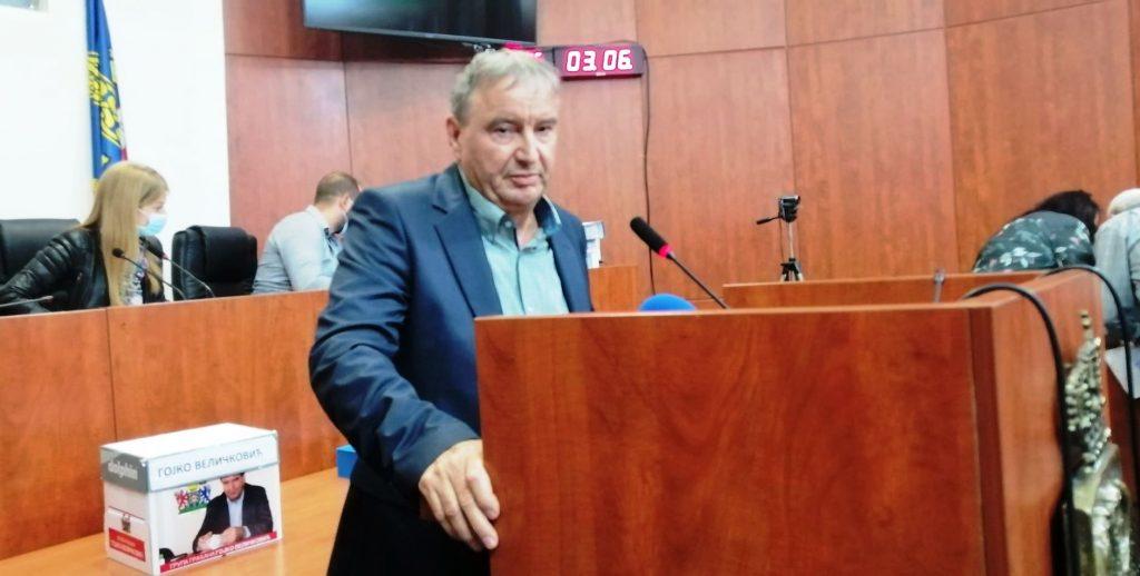 Gojko Veličković predao izbornu listu: O pobedniku će odlučiti moral