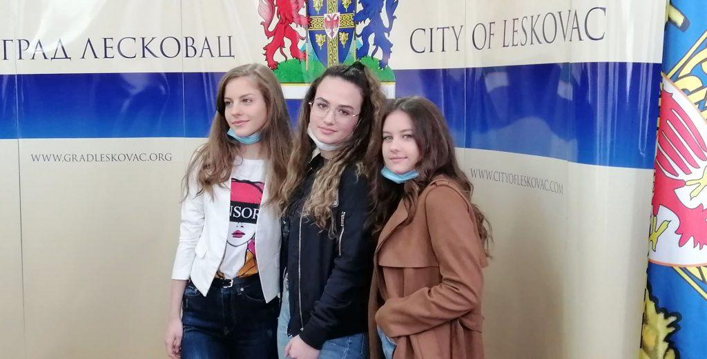 Isidora Mitić predstavlja Leskovac na takmičenju Srbija u ritmu Evrope