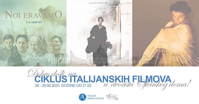 Italijanski filmovi pod zvezdama od 26. juna u Nišu