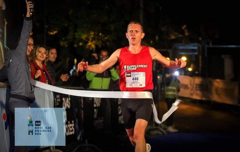 Maratonac Kristijan Stošić osvojio bronzanu medalju