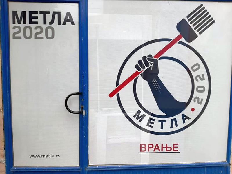 """Proglašena Izborna lista """"Metla 2020. – Da počistimo Vranje – Oliver Stojković"""""""