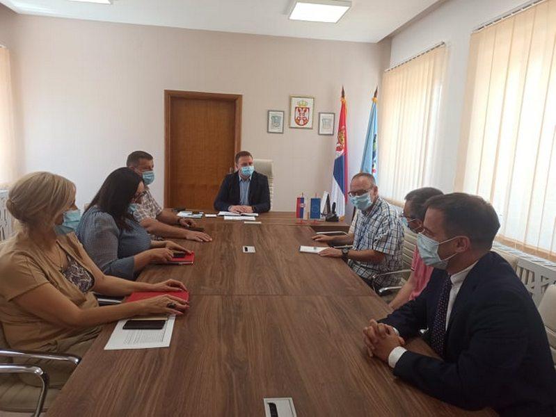 Novi šef kancelarije OEBS-a u Bujanovcu posetio Medveđu