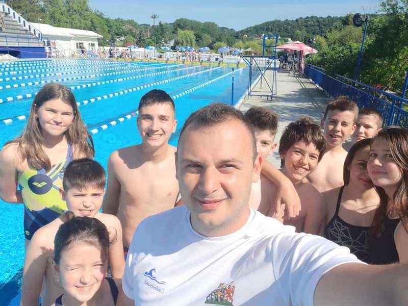 Plivački klub Leskovac osvojio 21 medalju na Međunarodnom takmičenju