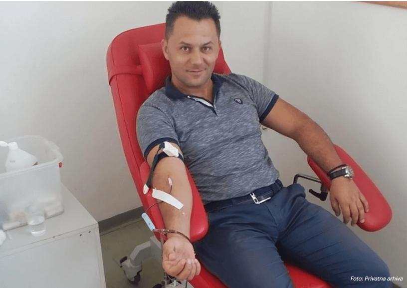Mladi inspektor kriminalističke policije dobrovlјno dao 38,25 litara svoju krv