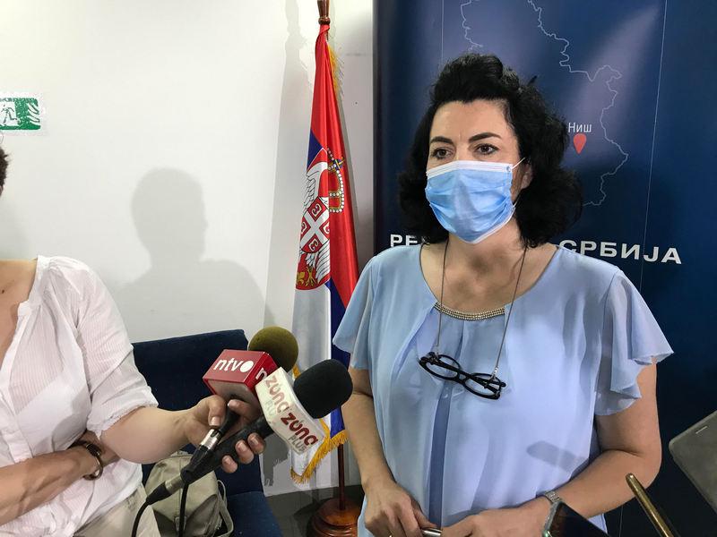 Na prijemu kod načelnice Sotirovski Nišlije se najviše žalile na infrastrukturne probleme