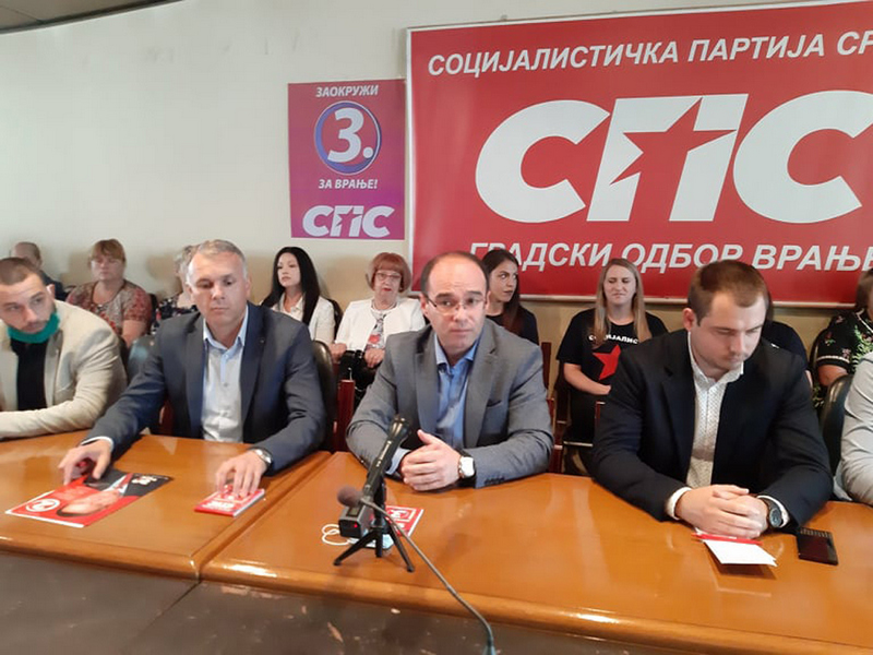 Glasanjem za SPS građani Vranja glasaju za svoje bolje sutra