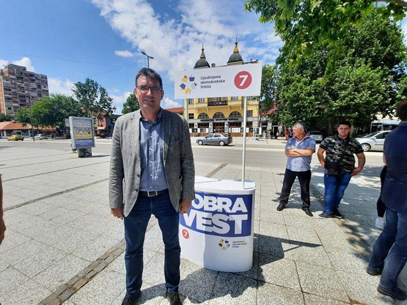 UDS: Ideja bojkota na jugu Srbije nije zaživela
