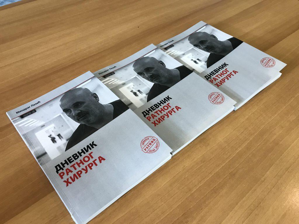 Dnevnik ratnog hirurga promovisan u Nišu