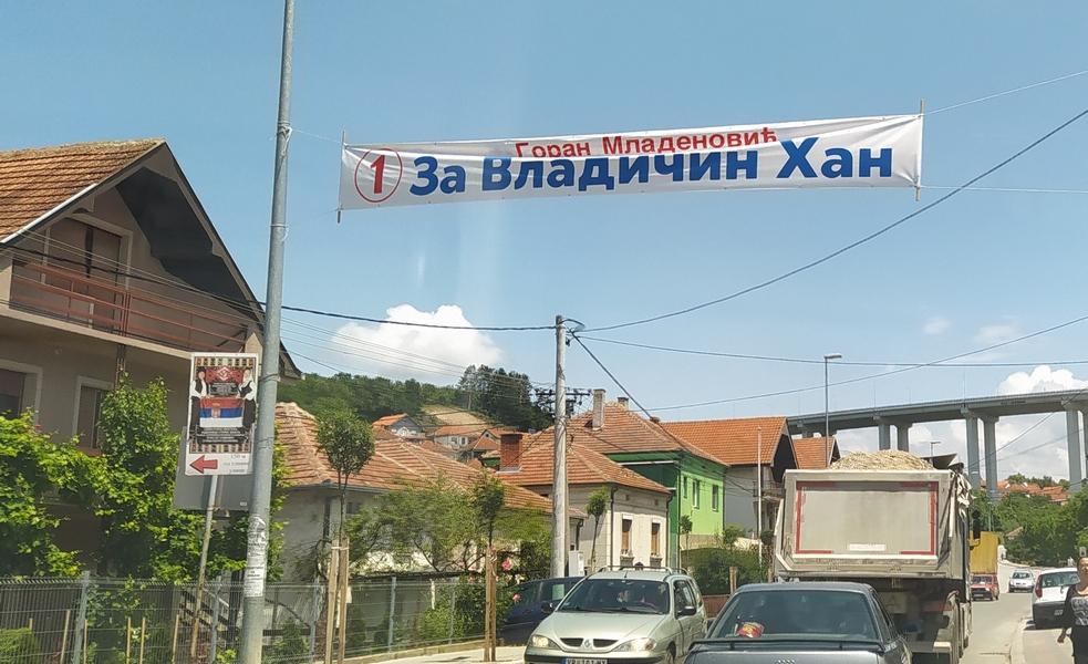 U Vladičinom Hanu  naprednjaci dobili većinu u lokalnoj skupštini,  izbori se ponavljaju na dva izborna mesta
