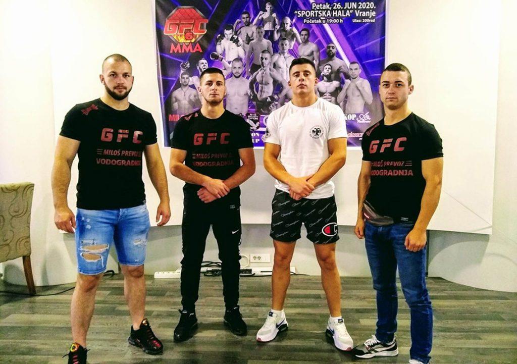 Vranjanci u glavnim borbama na GFC MMA turniru