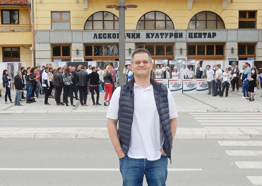 Vuk Jeremić u Leskovcu i Vranju: Ako se 21. juna održe izbori – ostanite kod kuće