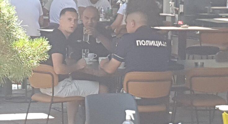 Novinaru pretio policajac iz kafića u društvu kolega na dužnosti