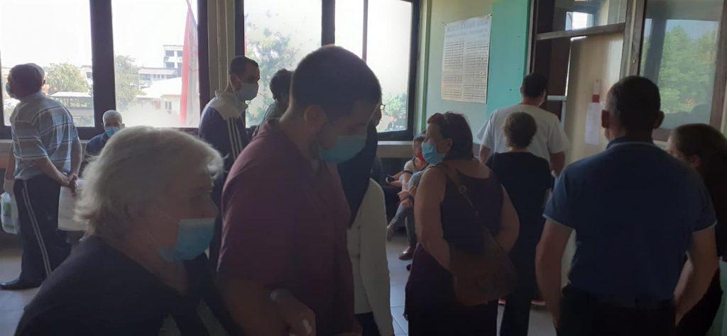U Pčinjskom okrugu skoro polovina zaraženih koronom od broja testiranih