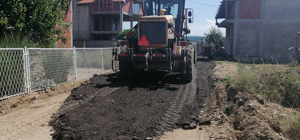 Sedam hiljada kubnih metara grebanog asfalta za Leskovac i okolinu